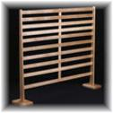 Tiger maple earring rack