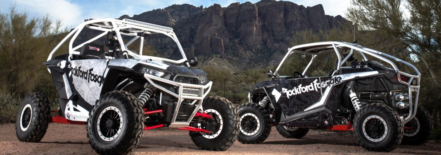Rockford-Fosgate-Polaris-RZR-Ranger-audio-side-by-side-speakers-canton-akron-alliance-ohio