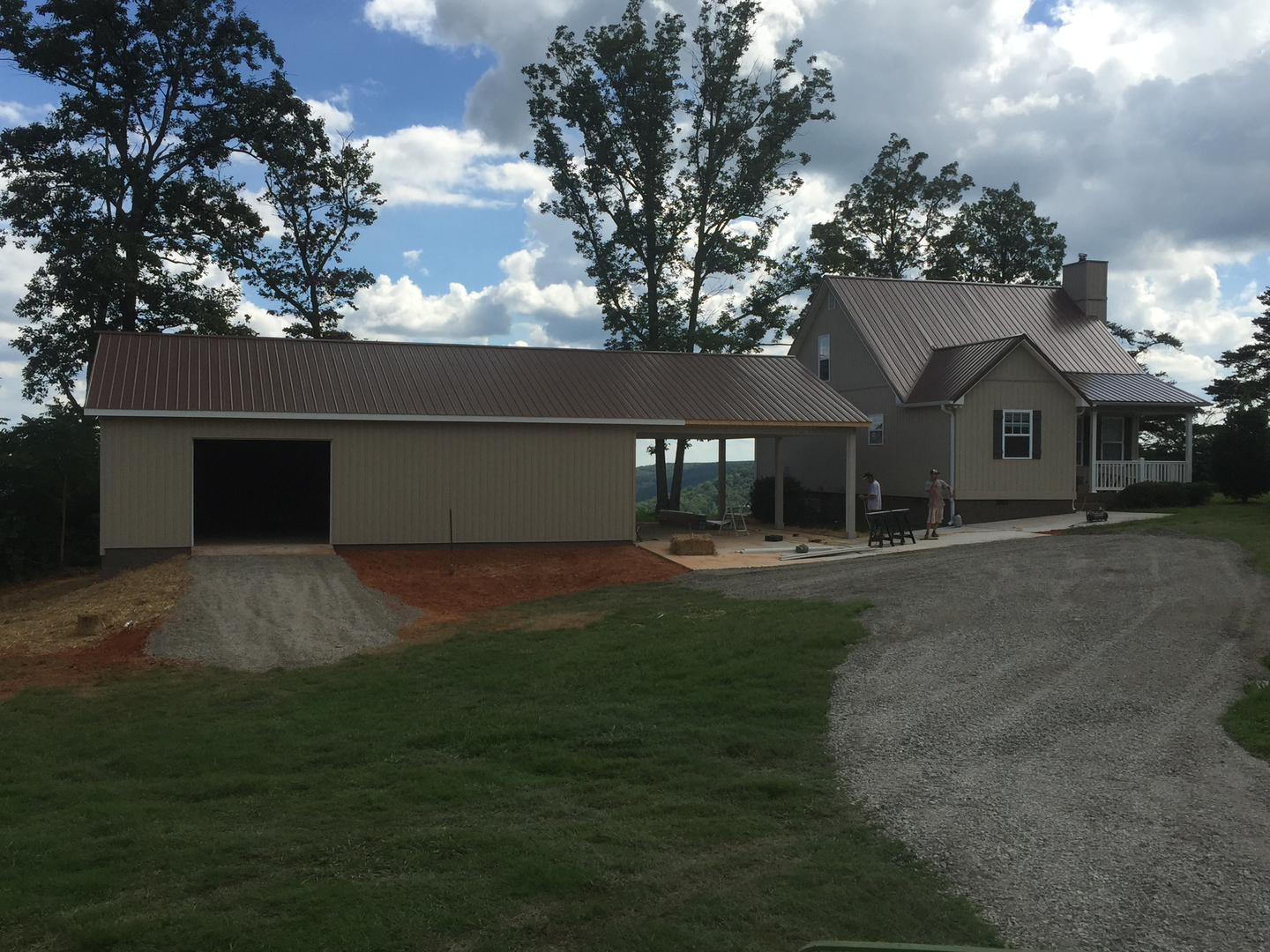 barns buildings and detached garages north alabama construction