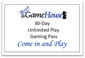 monthly pass, unlimited play, great value