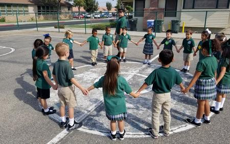 P.E. for Kindergarteners at St. Rose-McCarthy