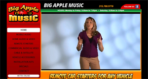 Rocked By Big Apple Website