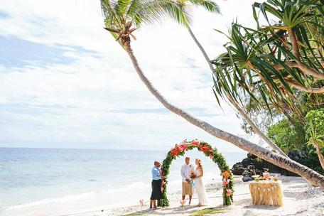 Private Island Elopement Fiji Package
