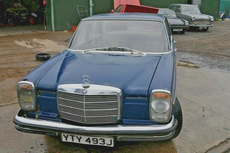 1971 MERCEDES BENZ 250 AUTOMATIC W114 60K MILES RESTORATION SPARES OR REPAIRS