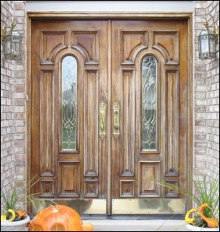 Wood Door Refinishing Service for the Birmingham, MI, Area