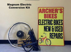 Magnum Electric conversion kit