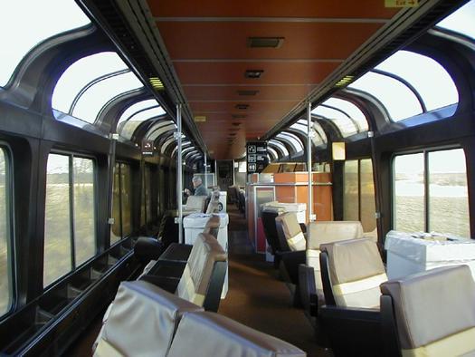Superliner Railcar