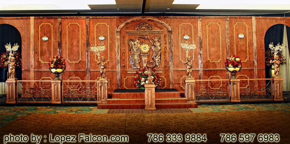 Titanic Quinces Party Miami Stage Decoration Photography Ideas