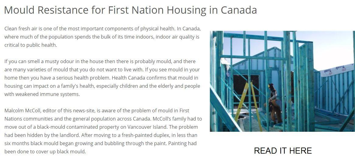 Mould Resistance for First Nations Housing