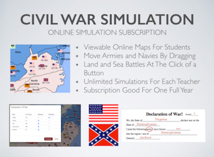 Online Civil War Simulation