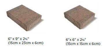 Transition Unilock Paver Sizes