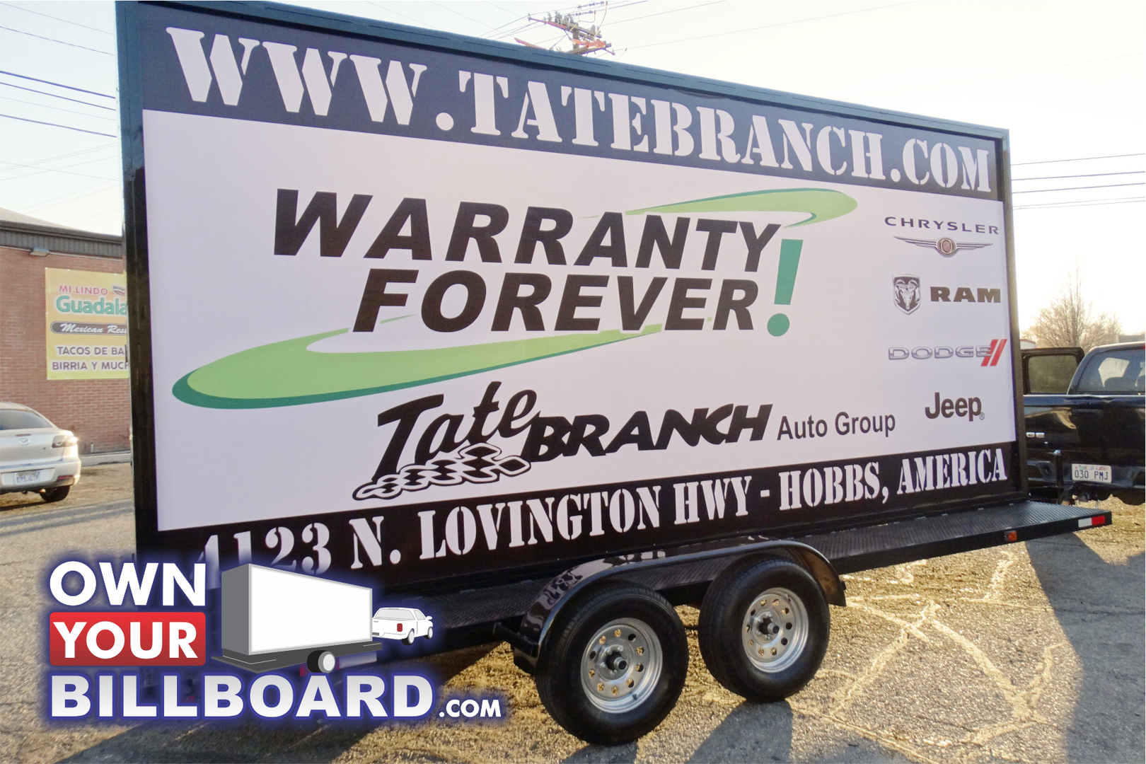 Mobile advertising, Billboard Trailers for sale, Billboards