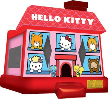 Inflatable Bouncing House Jump hello kitty jumper