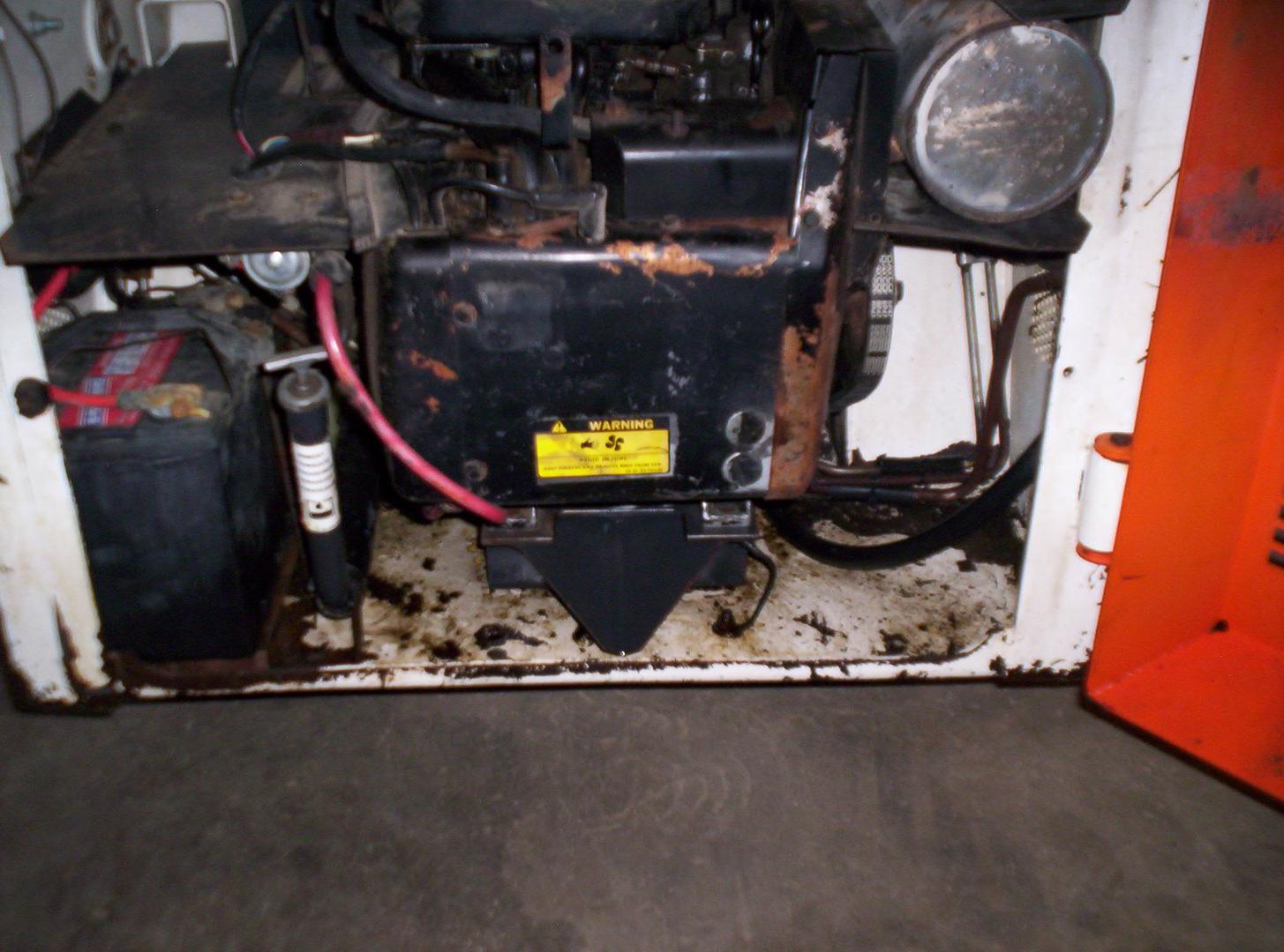 873 bobcat engine - Sold 2001 Bobcat 873