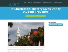 Pirates of Charleston and Student Travel Planning Guide