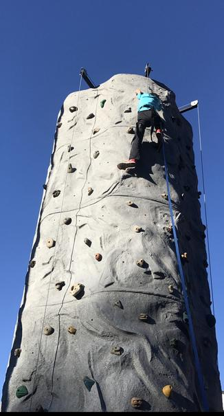 Portable Rock Wall Rentals Chickamauga GA