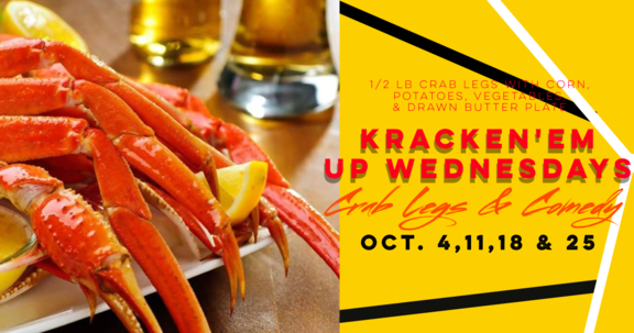 CRAB LEGS, SEAFOOD,ATLANTA COMEDY, PUNCHLINE COMEDY, UPTOWN COMEDY