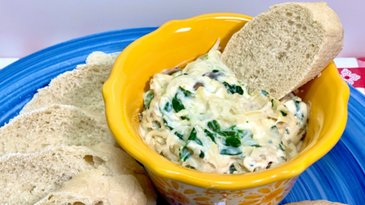 Artichoke Spinach Dip Hot Recipe, Noreen's Kitchen