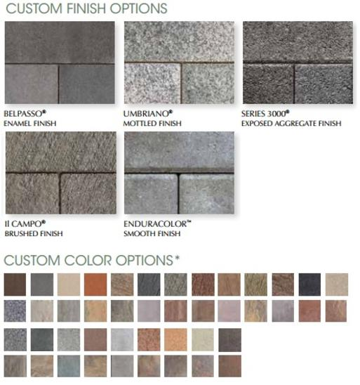 Unilock Engineered Permeable Paver Eco-Optiloc Custom Textures and Colors