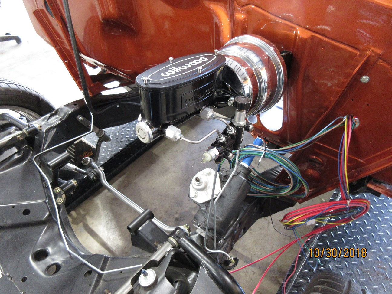 on 55 chevy ignition wiring