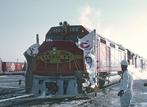 Super C Freight Train