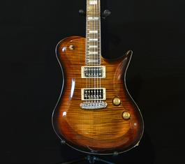 wt. Foster Guitars F9001 Modern 2017 Tiger burst