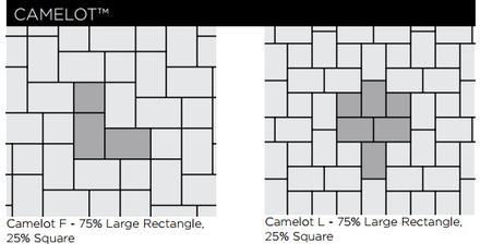 Camelot Paver Patterns