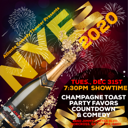 NYE 2020 Atlanta comedy uptown comedy punchline comedy laughing skull