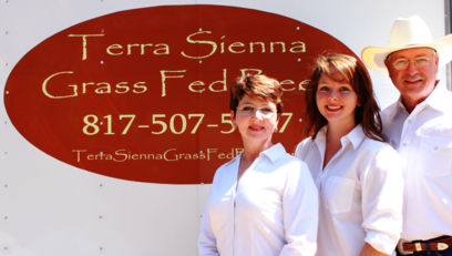 Terra Sienna Grass Fed Beef Helm Family
