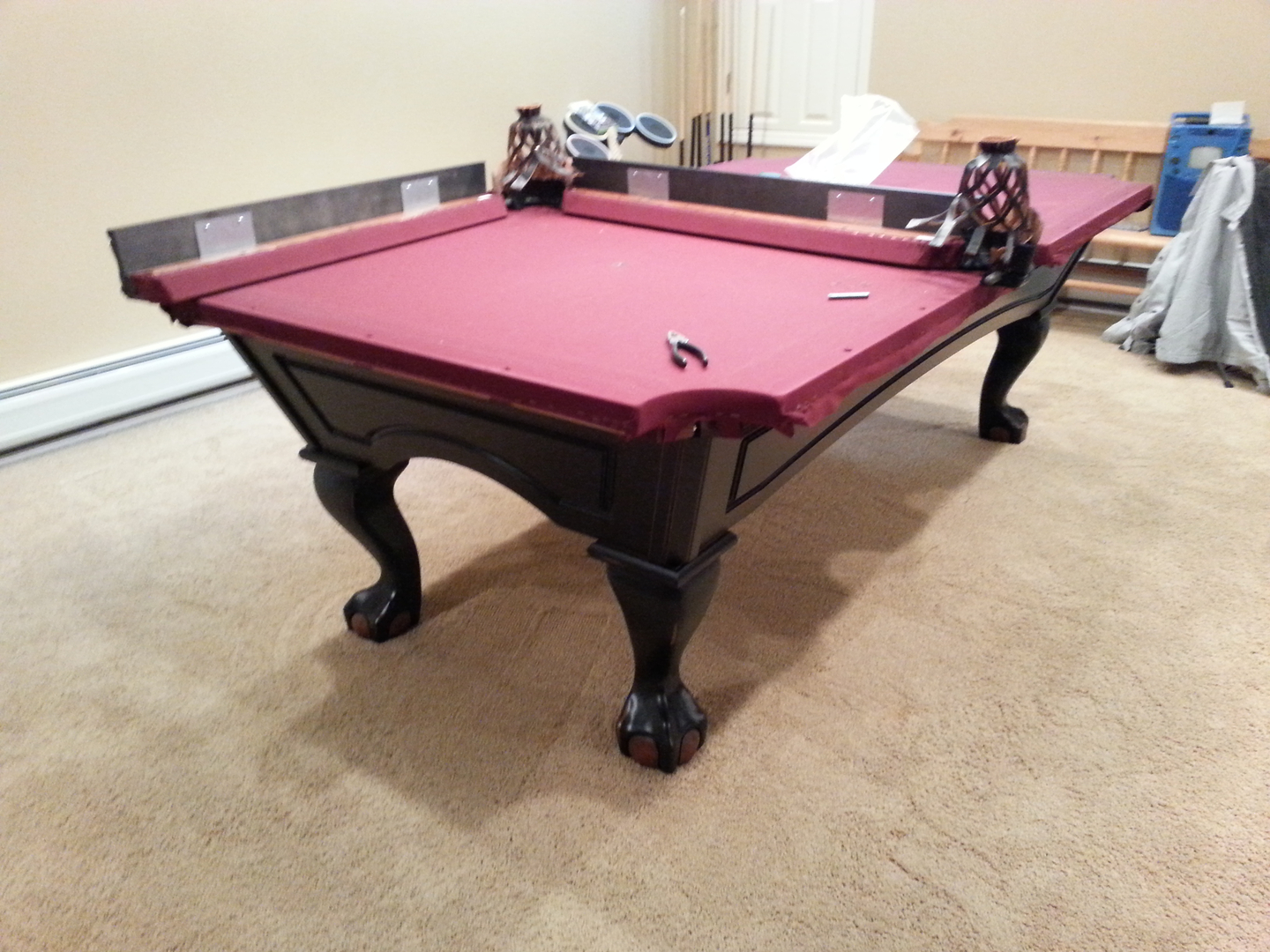 Service Photo Gallery - Pool table service nj