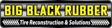 Big Black Rubber Tire Reconstruction & Solutions