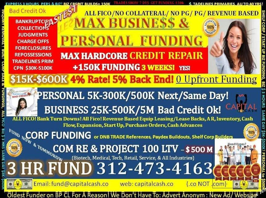 personal funding available