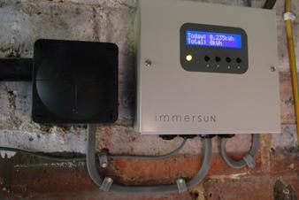 Immersun Solar hot water installed