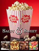 Poppin Popcorn Fundraiser Brochure Salty and Sweet