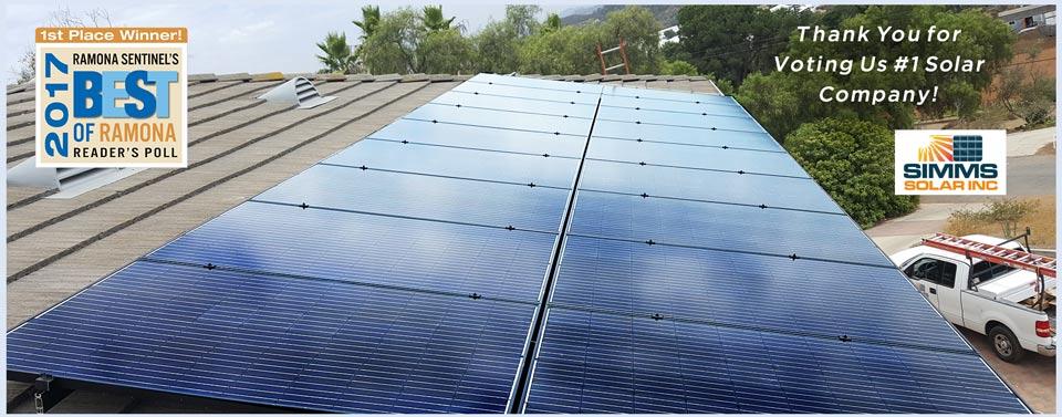Simms Solar Inc | Ramona, CA