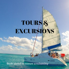 Pre-book tours and excursions to ensure availability