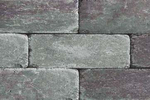 Unilock Brussels Dimensional Retaining Wall System New York Blend Color