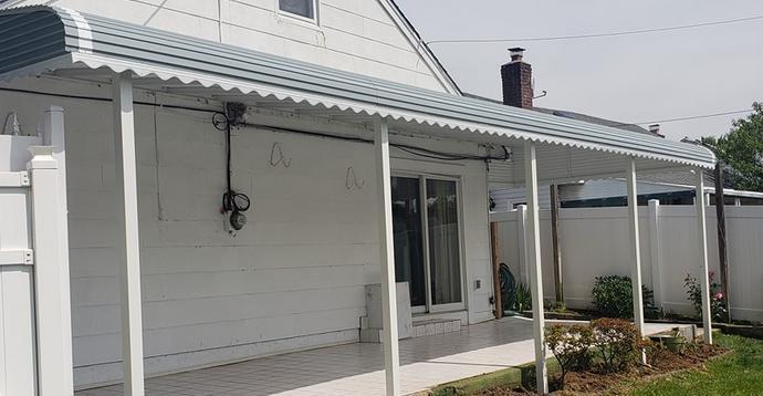 NYC Aluminum Awnings   Patios, Porches, Windows
