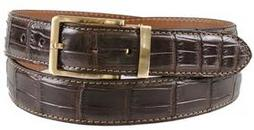 American Alligator Matte Belt