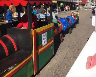 Trackless Train Lafayette La