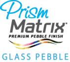 Premium Glass Pebble Pool finish