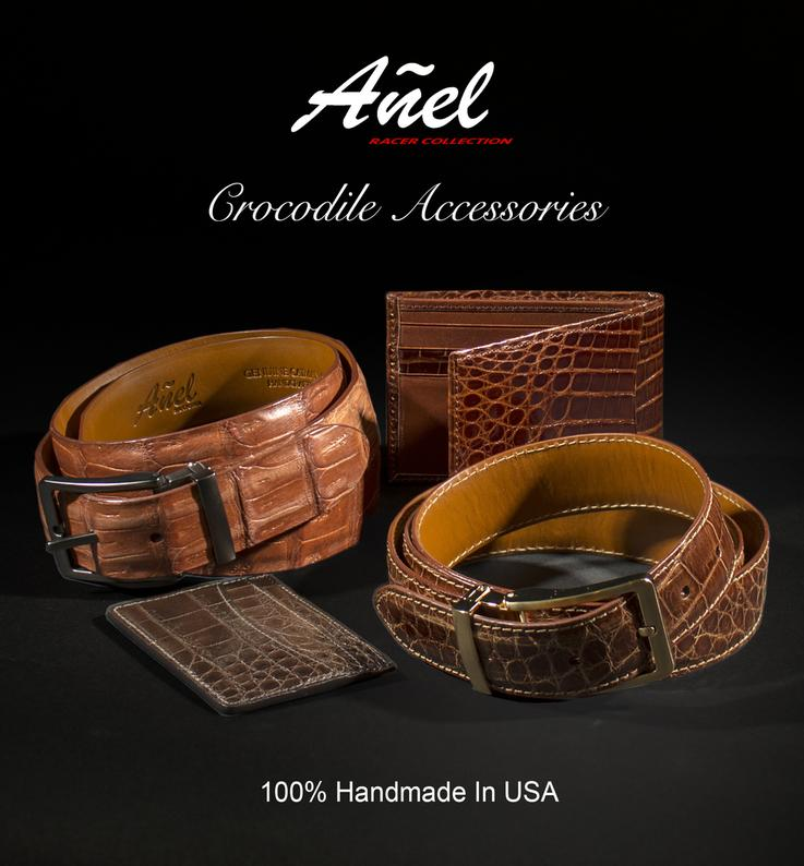 Our Genuine American Alligator accessories is created from the noticeably-superior quality, consistently unblemished hides of US alligators found in the soft river beds. Wonderfully supple, the leather will grow softer and more lustrous as it ages.