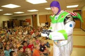Hire Buzz Light Year,Toy Story style Party Character