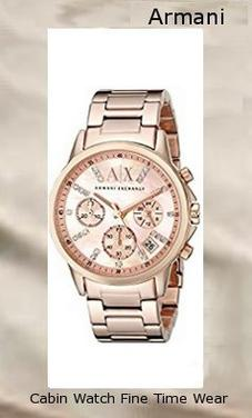 Armani Exchange Women's AX4327 Gold,armani