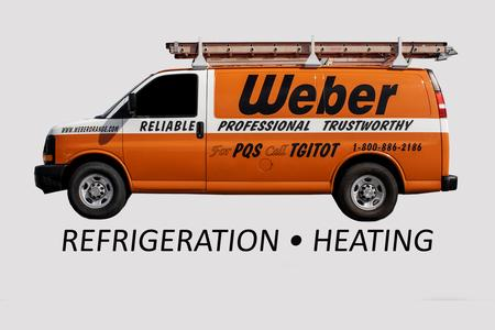 Weber Refrigeration, Heating, and Air Conditioning Truck Johnson, Ks