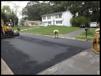 asphalt milling and overlay street repair