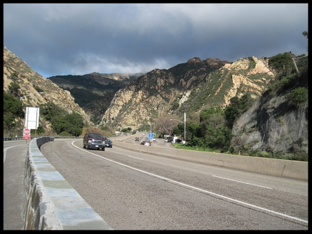 Gaviota Pass Rest Area in California
