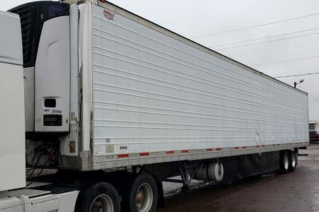 2010 WABASH Trailer with Carrier Reefer Unit