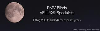 PMV Blinds - VELUX and Roto roof window / Skylight repair, replacement, installation, re-glazing, servicing, maintenance, Blinds, Leaks, repairs, Glass, renovation specialists covering London, Hertfordshire, Bedfordshire, Cambridgeshire, Essex, South London, North London and Central London.