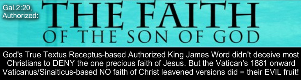 the faith of Jesus Christ